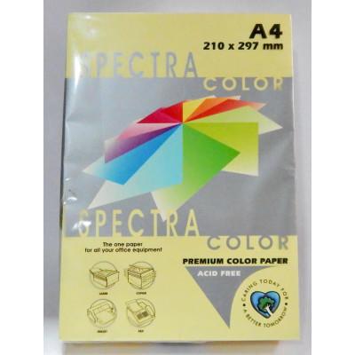 Папір А4/80 500л. Spectra - Color Canary- св.желт.
