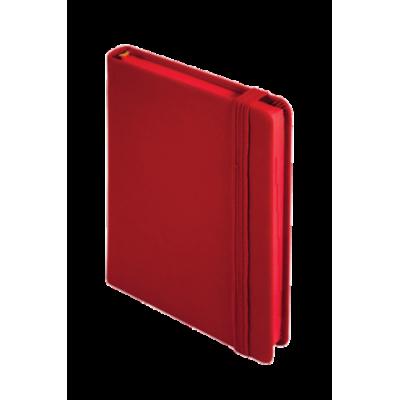 Ежедневник датированный 2018, Buromax, TOUCH ME, красный, А6