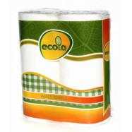 Полотенце бум. Ecolo  (2шт)