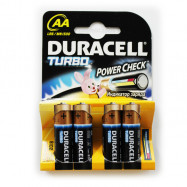 Батарейка Duracell TURBO LR06 /MN1500 KPD 04*20 пальч.