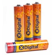 Батарейка  міз.жX-DIGITAL Longlife коробка R3 1x4 шт