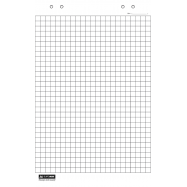 Блок бумаги для флип-чарта белый 10л.,64х90см