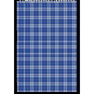 Блокнот А4 48л. пруж. верхн.  клетка, карт.обложка, ассорти