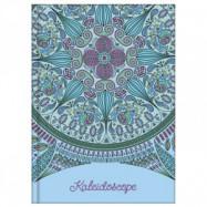 """Блокнот А6 80 арк., клітинка, """"Kaleidoscope"""" синій"""