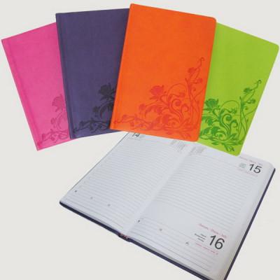 Ежедневник датированный 2017, Josef Otten, Цветы, mix4, А5