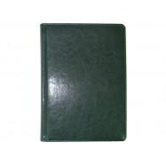 Ежедневник датированный 2021, Бриск, Sarif 155, зеленый, А6
