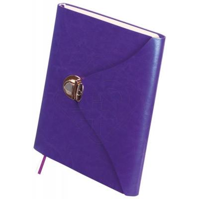 Ежедневник недатированный FOREVER, A5, 320 стр. фиолетовый