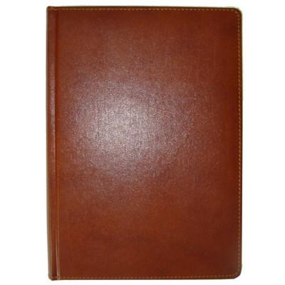 Ежедневник недатированный, Brisk, Bizon 43, коричневый, А5