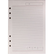 Сменный блок для органайзера, Optima, 50 листов, 185х235