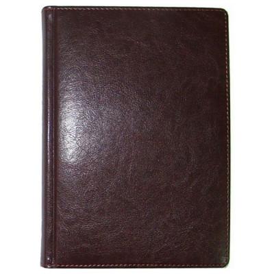 Ежедневник недатированный, Brisk, Sarif 151, бордо+золото, А6