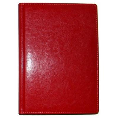 Ежедневник недатированный, Brisk, SARIF 43, красный, А5