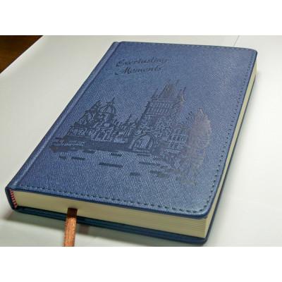 Ежедневник недатированный ROMANTIC, A5, 288 стр. фиолетовый