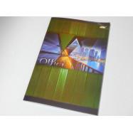 Книга канц. А4 96л. клетка обл.мягкая, офс. БРИСК