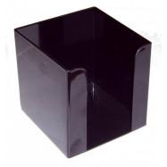 Бокс  до паперу  90*90*90 мм.  чорний
