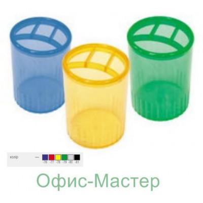 Стакан-подставка на 4 отдел. пластик.черн.