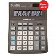 Калькулятор Citizen Correct D-316,(155*205) бухгалтерський, 16 р.