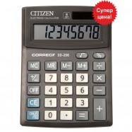 Калькулятор Citizen Correct SD-208,(135*100) компактний настільний, 8 р.