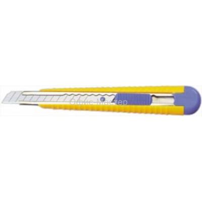 Нож канцелярский  9мм, автофикс.,метал.напр., 4516, NORMA