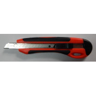 Нож канцелярский  9мм, автофикс. мет.напр. прорез. 4524, NORMA