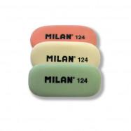 Ластик MILAN 124 овальный 4.9*2,3*0,9 см