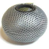 """Підставка для скріпок """"Шар"""", металева 75х57мм, срібло"""
