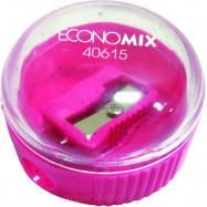 Точилка с контейнером EKONOMIX, круглая