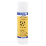 Клей-олівець перманентний, PVP основа, білий, 36г