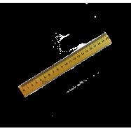 Линейка деревянная (шелкография) 20см