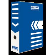 Бокс архівний 80мм Jobmax, синий