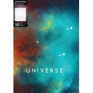 """Папка А4 Optima на 10 файлов,  """"Universe"""", ассорти"""
