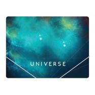 """Папка пластиковая А4 на резинках Optima """"Universe"""", ассорти O31664"""