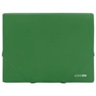 Папка пластик на резинке  А4, зеленая