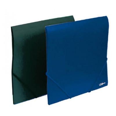 Папка-коробка, непрозр., на рез. A4, 3см, цв. в ас-те, 5041, NORMA