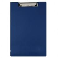 Папка-планшет А4, 4Office PVC, син., 4-258-4