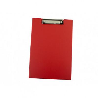 Папка-планшет А4, 4Office PVC, красн., 4-258-6