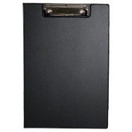 Папка-планшет А4, 4Office PVC, черн., 4-258-9