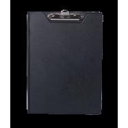 Папка-планшет А4, ВМ PVC, чорний