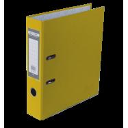 Регистратор одност.  А4, 70мм PP, сборный JOBMAX желтый BM3011-08c