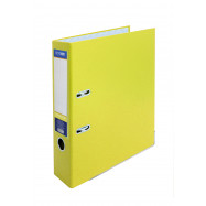 Папка-реєстратор А4 7см жовта, (зібрана)