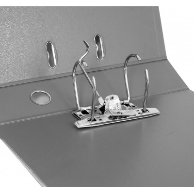 Папка-реєстратор LUX А4 5см сіра (зібрана)