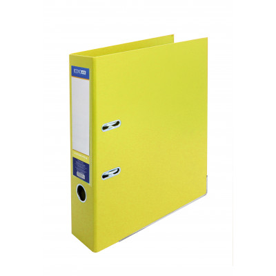 Папка-реєстратор LUX А4 7см жовта (зібрана)