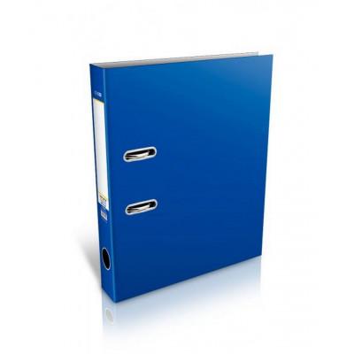 Папка-регистратор А4, 5см., винил., синяя