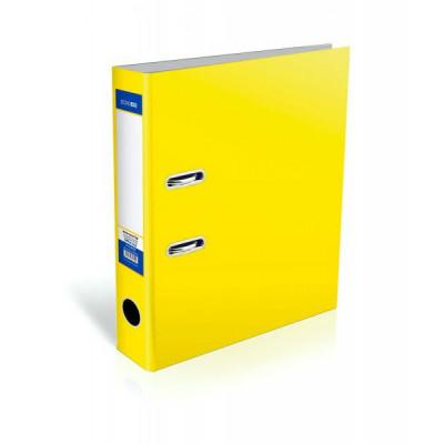 Папка-реєстратор Lux, А4, 80мм, жовта