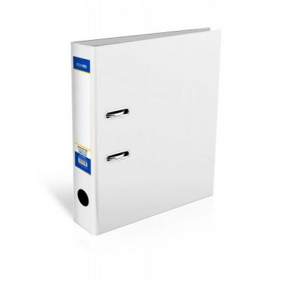 Папка-реєстратор Lux, А4, 80мм, біла