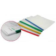 Папка А4 Economix с планкою-зажимом 10 мм (2-65 листов), белая