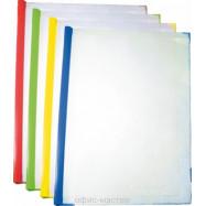 Папка А4 с планкой-зажимом 2-65 лист. асс.