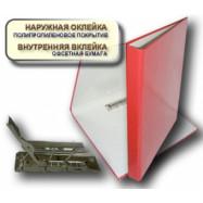 Папка 321/ITEM А4 20мм.с прижимом син.