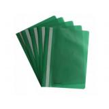 Папка-скоросшиватель А4 Format без перф., апельсин, зеленая F38503-04