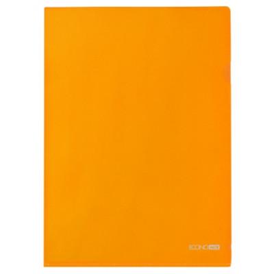 Папка-уголок А4 180 мкр.,оранжевый