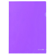 Папка-уголок А4 180 мкр.,фиолет.